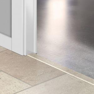 Quickstep Incizo Door/Stair Profiles Exquisa Ceramic White