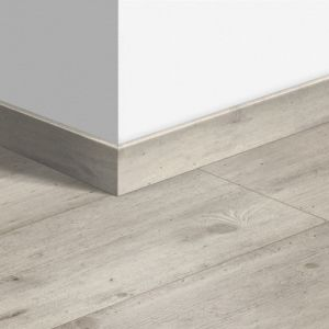 Quick-Step Standard Skirting Board QSSK Concrete Wood Light Grey