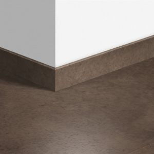 Quick-Step Standard Skirting Board QSSK Polished Concrete Dark