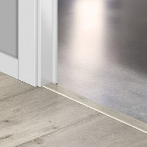 Quickstep Incizo Door/Stair Profiles Impressive Concrete Wood Light Grey Planks