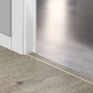 Quickstep Incizo Door/Stair Profiles Impressive Sawcut Oak Grey Planks