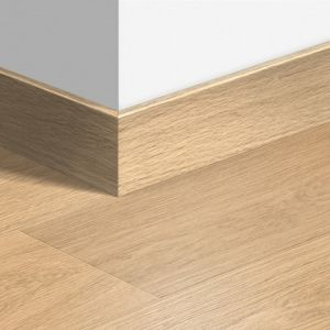 Quick-Step Largo Skirting Board QSLPSKR White Varnished Oak QSLPSKR01283