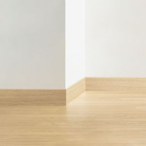 Quick-Step Standard Skirting Board QSSK Saw Cut Oak Beige